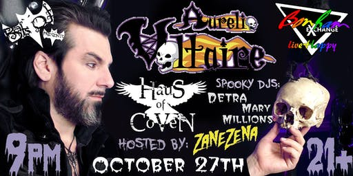 Aurelio Voltaire Undead at Bonham Exchange