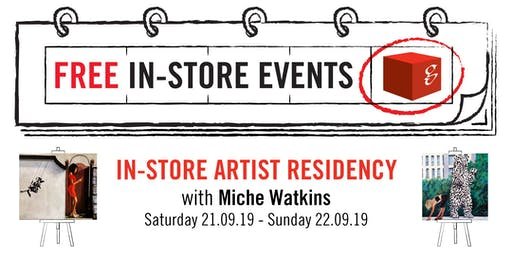 In-Store Artist Residency with Miche Watkins