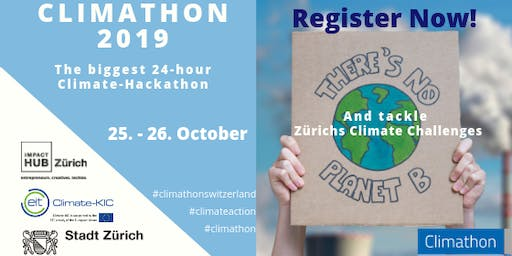 Climathon - hosted by ImpactHub Zurich and the City of Zurich