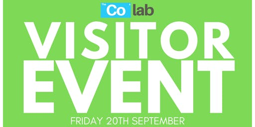 The Co Lab Visitor Day 20th September