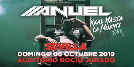 CONCIERTO ANUEL AA Sevilla entradas