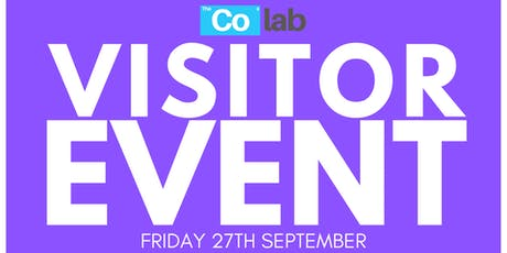 The Co Lab Visitor Day 27th September tickets