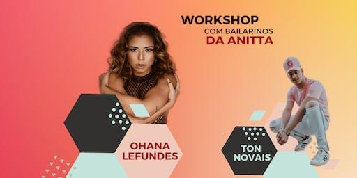 WORKSHOP COM OS BAILARINOS DA ANITTA