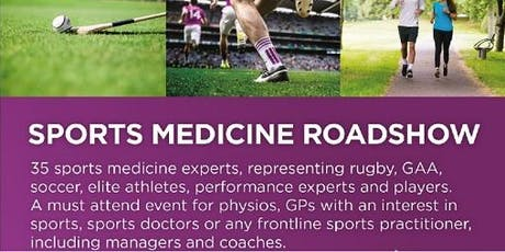 UPMC Sports Medicine Roadshow - Galway tickets