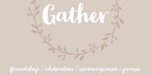 Gather (Ladies Group) - September 2019
