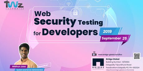 Web Security Testing for Developers tickets