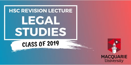 Legal Studies - HSC Revision Lecture (Macquarie)
