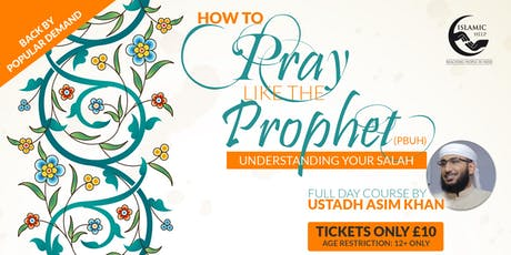 How to Pray like the Prophet - London tickets