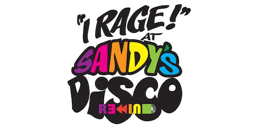 Sandy's Disco Rewind - Fri 15th Nov 8pm til 1am