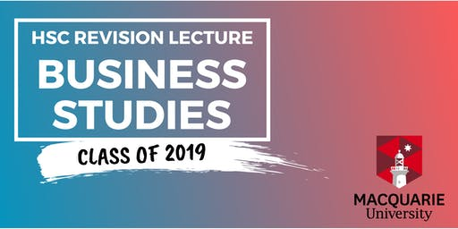 Business Studies - HSC Revision Lecture (Macquarie)