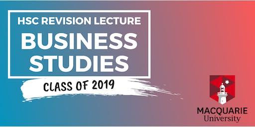 Business Studies - HSC Revision Lecture (Macquarie)