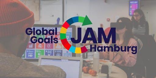 Abschlusspräsentation des Global Goals Jam Hamburg