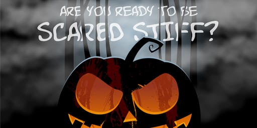 SCARED STIFF HALLOWEEN! {Includes 2 Drink Tickets!}