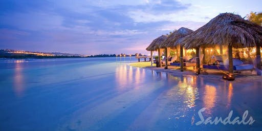 Sandals Caribbean Night