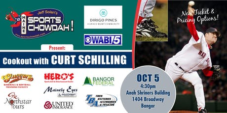 Cookout With Curt Schilling Presented by Dirigo Pines tickets