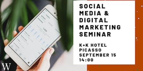 Seminar: Social Media & Digital Marketing tickets
