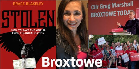 An Evening With Grace Blakeley hosted by Greg Marshall & Broxtowe Labour tickets
