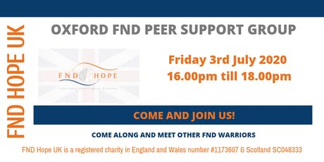 Oxford FND Peer Support Group tickets