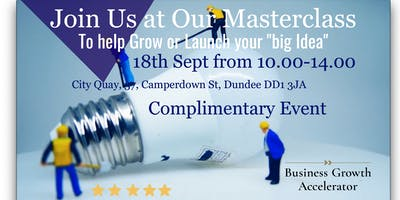 Business Growth Masterclass-To help you Grow your Business Success