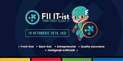 FII IT-ist, 19 octombrie 2019