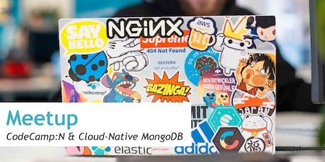 MeetUp CodeCamp:N & Cloud-Native MongoDB Tickets