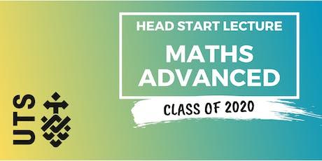 Mathematics - Head Start Lecture (UTS) tickets