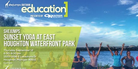 MI SheJumps Sunset Yoga at East Houghton Waterfront Park tickets