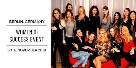 Women of Success - Hotel de Rome Berlin tickets