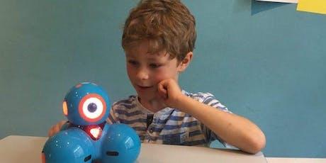 Einmaliger FerienWORKSHOP: Robotics mit Dash (Herbstferien 2019) Tickets