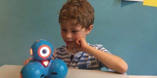 Einmaliger FerienWORKSHOP: Robotics mit Dash (Herbstferien 2019)