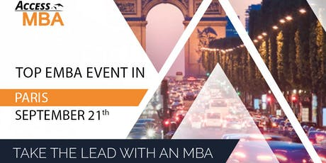 Salon des meilleurs Executive MBA à Paris billets