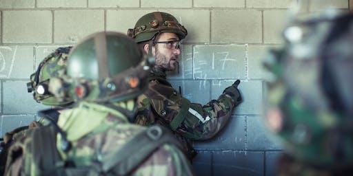 Training Militair Leiderschap /Johannes Postkazerne in Darp