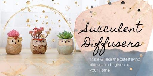 Succulent Diffuser Make & Take