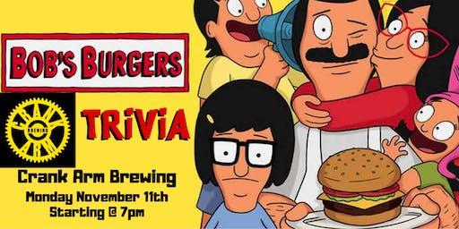Bob's Burgers Trivia at Crank Arm Brewing
