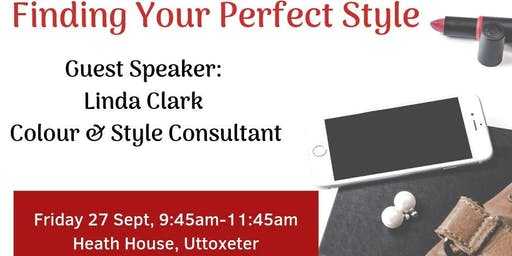 Uttoxeter WiRE Meeting - Finding Your Perfect Style with Linda Clark, Colour & Style Consultant