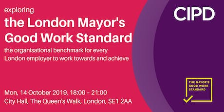 Exploring the London Mayor's Good Work Standard tickets