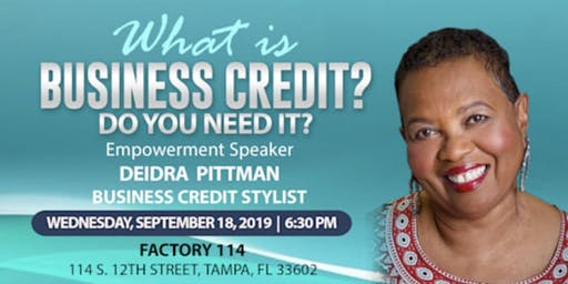 W.E.E. Host - DEIDRA PITTMAN Business Credit Stylist