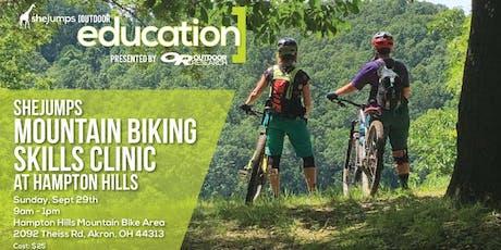 OH SheJumps Mountain Biking Skills Clinic at Hampton Hills tickets