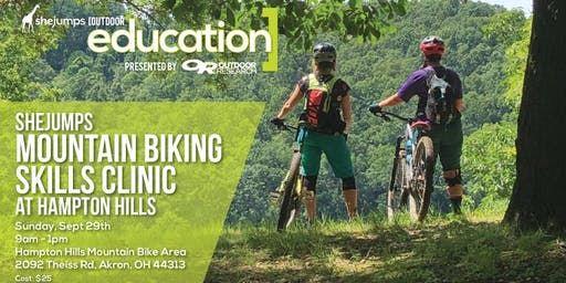 OH SheJumps Mountain Biking Skills Clinic at Hampton Hills