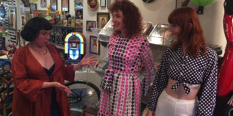 East Village Vintage Shop and Taste with a Stylist and her small dog tickets