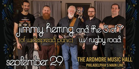 Jimmy Herring and The 5 of 7 w/ Rugby Road tickets