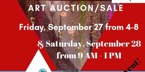 Friends of the Library Art Sale/Auction and Family Fun Day
