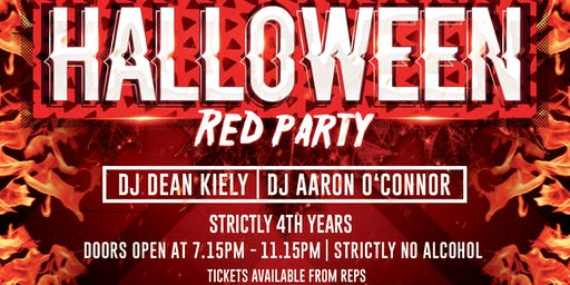 MYSTIC: 4th Year Halloween Red Party