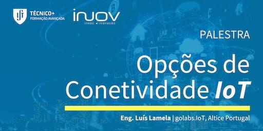 Opções de Conetividade IoT