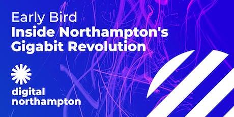 Digital Northampton Early Bird: Inside Northampton's Gigabit Revolution tickets