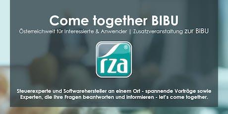 Come together BIBU - VORARLBERG (Rankweil) Tickets