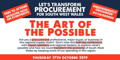 Procurement Forum - The Art of the Possible tickets