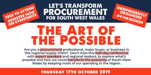 Procurement Forum - The Art of the Possible