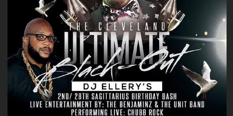 The Cleveland Ultimate Blackout & Dj Ellery's Sagittarius Birthday Bash tickets