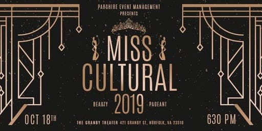 Miss Cultural 2019 Beauty Pageant